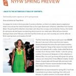 NYFW Spring 2013